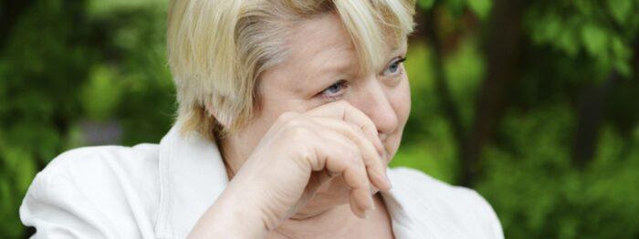 rinnande näsa äldre