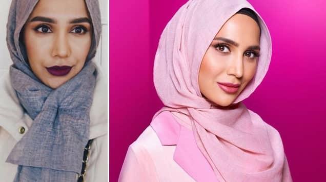 Här är L'Oréals nya hårmodell – som bär hijab