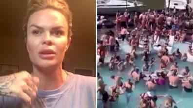 "Hon deltog i kritiserade poolpartyt: ""Tappade hakan"""