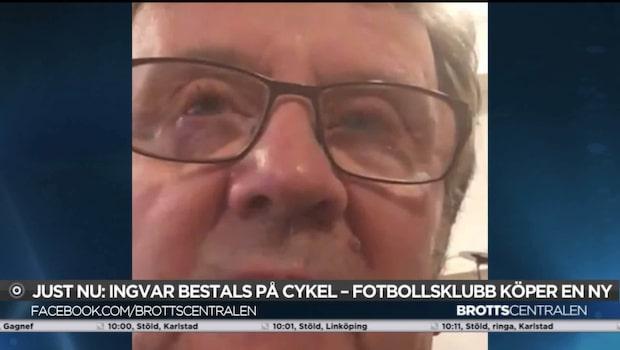 Parkinsonsjuka Ingvar blev bestulen på sitt hjälpmedel