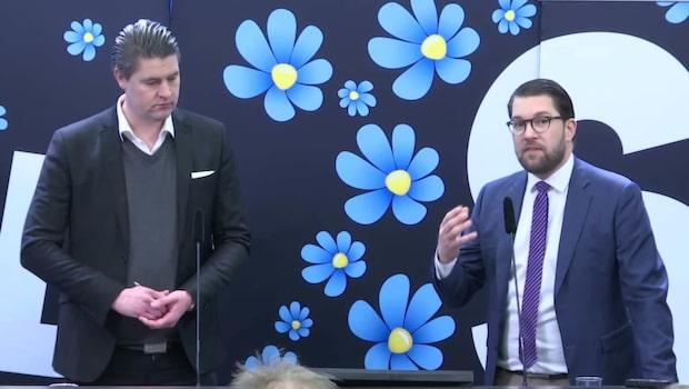 """Jimmie Åkesson (SD) : """"Såhär gör vi om SD:s budget faller"""""""