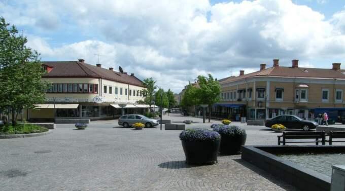 Inte stureplan. Man behöver inte gå till Stureplan för att hitta frihetliga idéer, det räcker gott med Centralplan i Värnamo. Foto: Peter J Olsson