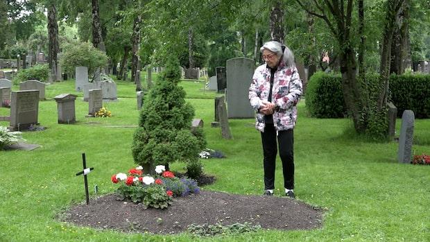 Eva-Lott Erikssons pappa dog med covid-19 på Berga