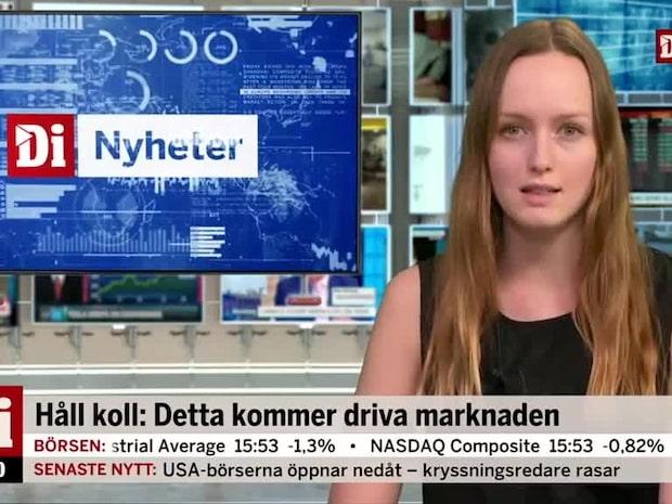 Onsdagen: Industri-PMI från Silf/Swedbank