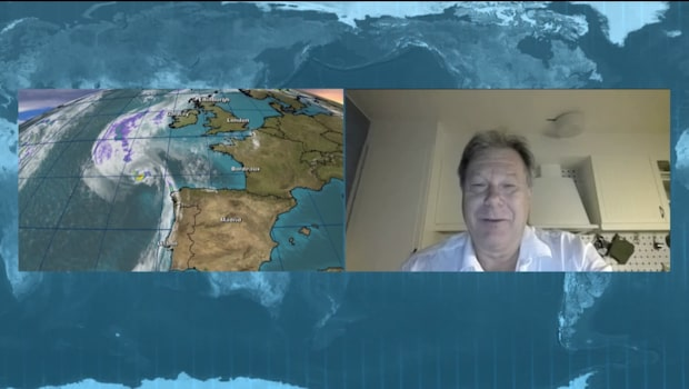 "Meteorolog Johan Groth: ""Mycket kraftiga vindar"""