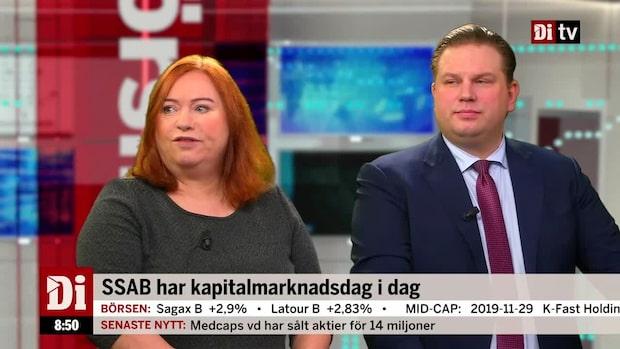 """Jönsson och Nilsson om SSAB: """"Tror mycket väl att det här kan bli bra"""""""