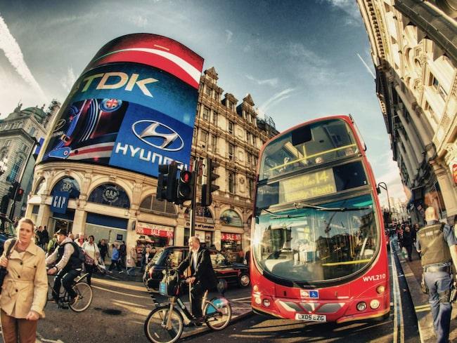 Hitta ett billigt hotell i London i januari.