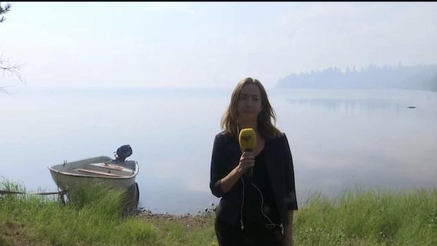 """Italienska planen på gång: """"Inte jättebra sikt när de ska gå ner på sjön"""""""