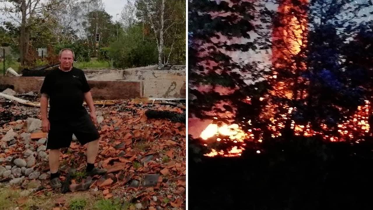 Torgeir såg allt han ägde förstöras i mordbranden