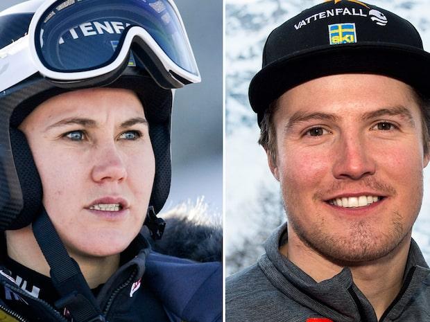 Tre svenska åkare i rehab – med en vecka till VM