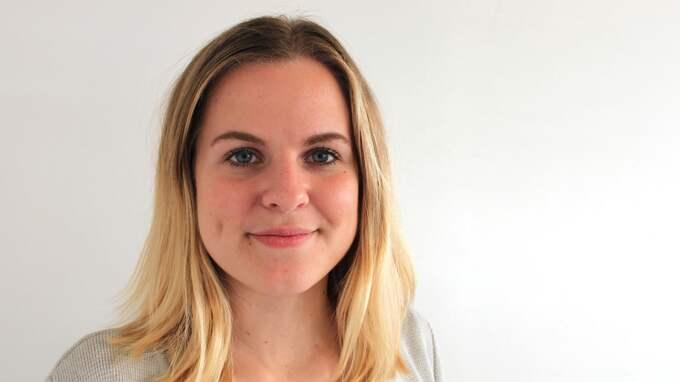 Helena Nanne (M), vice förbundsordförande Moderata Ungdomsförbundet. Foto: PRESSBILD