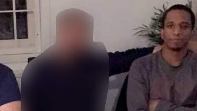 Den 30-årige företagaren poserar på bild med gängledaren Merhawi Aregai – bara timmar innan mordet. Foto: POLISEN POLISEN