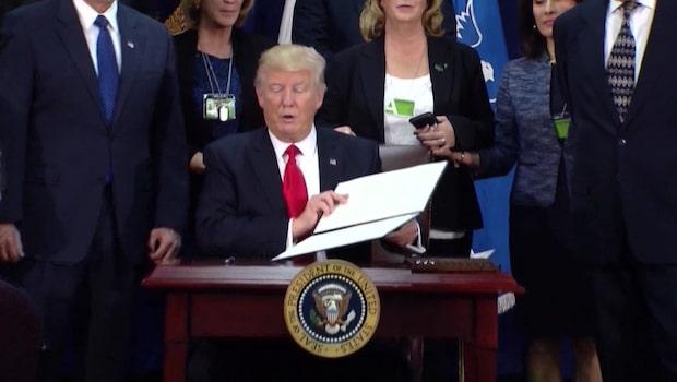 Trump vill bygga ut USA:s kärnvapenarsenal