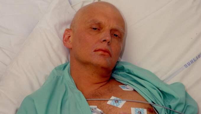 Den avhoppade ryska agenten Aleksandr Litvinenko insjuknade plötsligt 2006. Foto: AP
