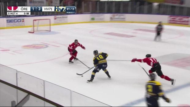Höjdpunkter: Örebro-Hv71