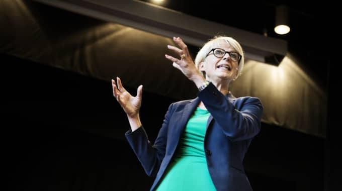 Elisabeth Svantesson, M, arbetsmarknadspolitisk talesperson. Foto: Anna-Karin Nilsson