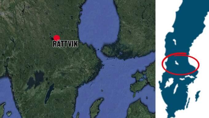 Den döde mannen bodde på ett asylboende nära Rättvik. Foto: Google Earth/Expressen