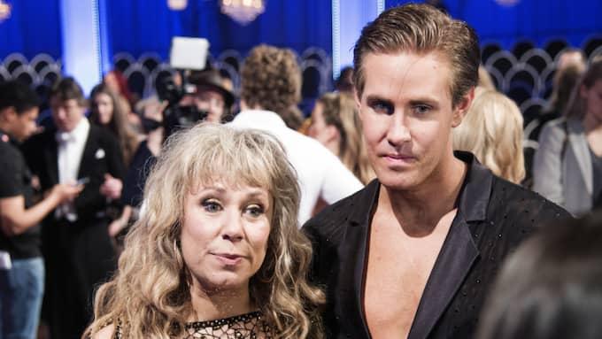 Stina Wollter och Tobias Bader Foto: Olle Sporrong