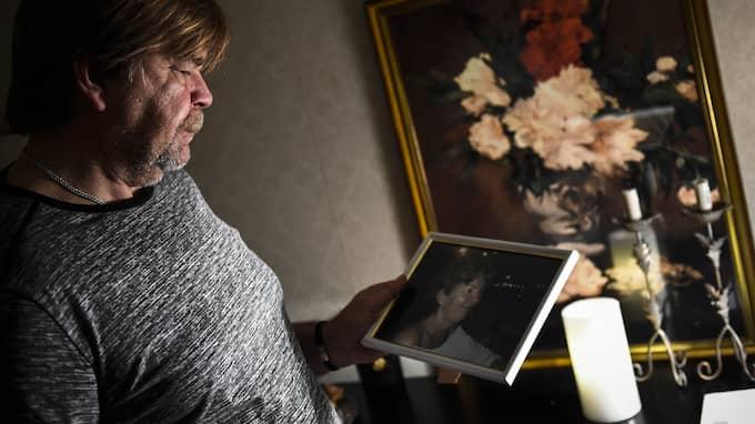 """""""Jag tänker på henne varje dag"""", säger Glenn Hammarkvist om sin sambo. Foto: JENS CHRISTIAN"""