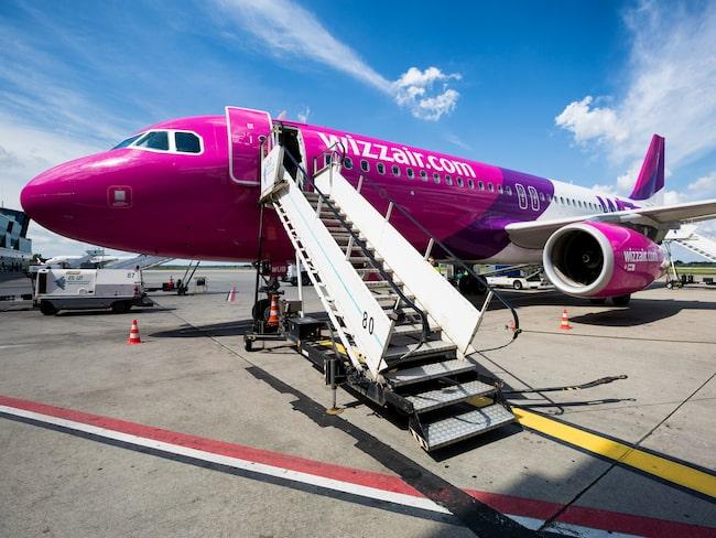 Den nya direktlinjen trafikeras av lågprisbolaget Wizz Air.