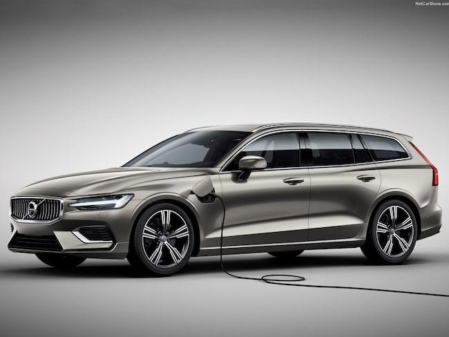 V60 kommer vara en av de viktigare, laddbara modellerna för Volvo framöver.