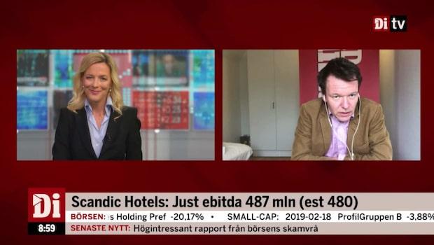"Di:s Ulf Petersson om Scandic - ""Stockholmsmarknaden går bra"""