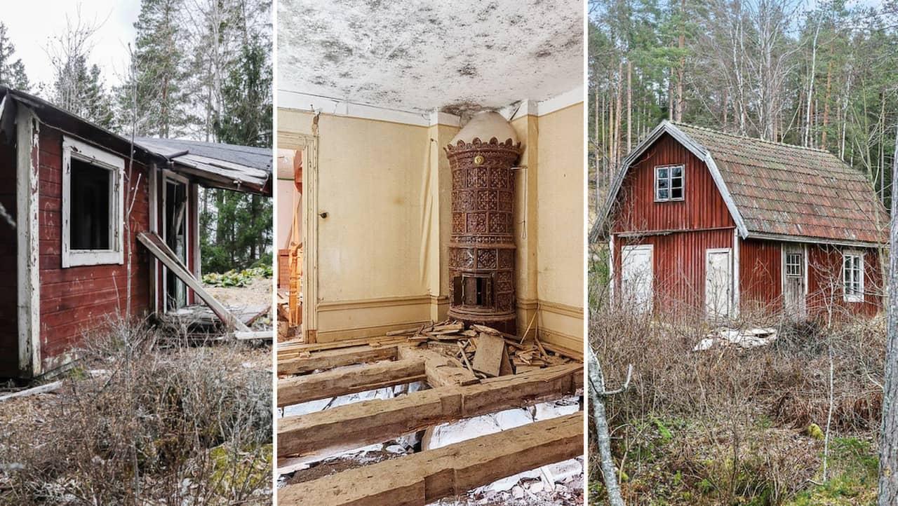 11 Mystiskt Overgivna Hus I Sverige Leva Bo