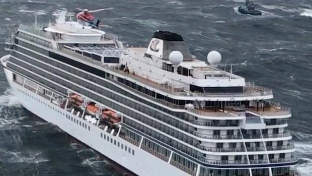 17 personer från Viking Sky förda till sjukhus