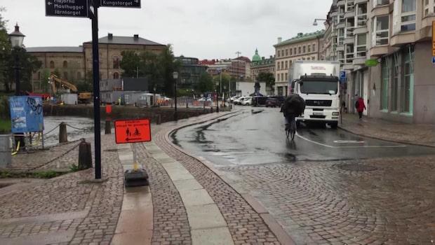 """Stormen Knud på väg – uppmaningen: """"surra fast lösa föremål"""""""