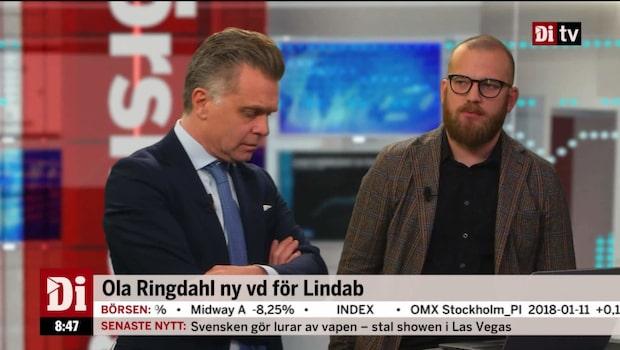 Ola Ringdahl ny vd för Lindab