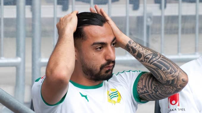 Jiloan Hamad inledde matchen mot Malmö på bänken, men säger sig vara redo att starta söndagens match. Foto: HENRIK ISAKSSON/IBL / /IBL