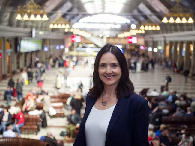 Karin Starkman Ahlstedt, kommunikationsstrateg på SJ.