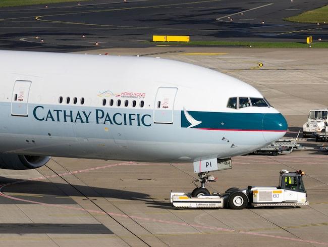 Flygbolaget Cathay Pacific hade återigen gjort ett misstag.
