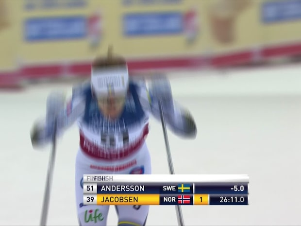 Ebba Anderssons succé - pallplats i Ulricehamn
