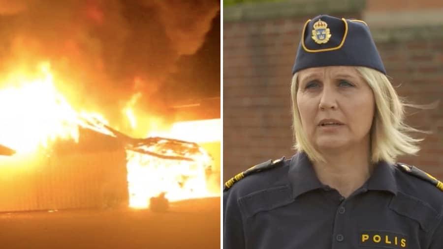 Varberg: 66 bilbränder i Varberg de senaste månaderna