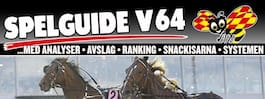 V64 och DD: Oddset är bra – för han kan runda fältet