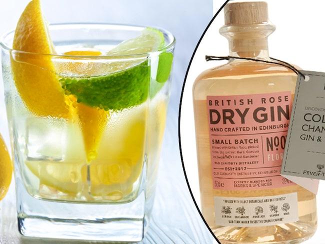 En glad nyhet för alla gin-fans är ginen som ändrar färg.
