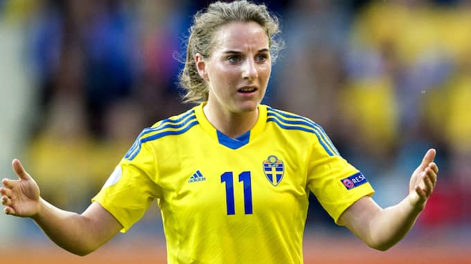 Antonia Göransson är klar för Serie A-laget Fiorentina. Foto: CARL SANDIN / BILDBYRÅN