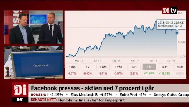 """Wendel pessimistisk till Facebook: """"Måste prisa in regleringsrisk"""""""