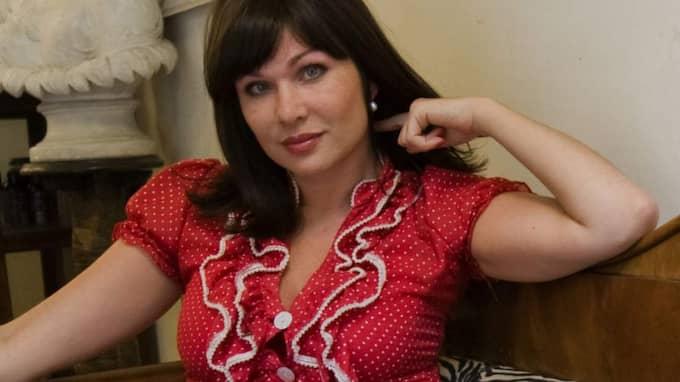 Pr-konsulten och Army of Lovers-stjärnan Dominika Peczynski, 44, är Anders Borgs nya kärlek. Foto: Krister Larsson