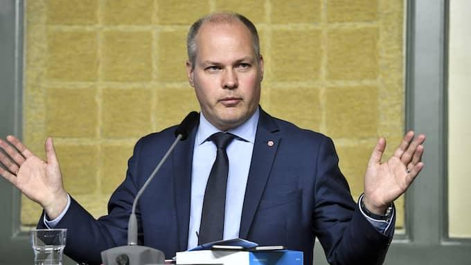 Justitieminister Morgan Johansson (S) bör ge Brå i uppdrag att utreda brott och härkomst. Foto: CLAUDIO BRESCIANI/TT / TT NYHETSBYRÅN