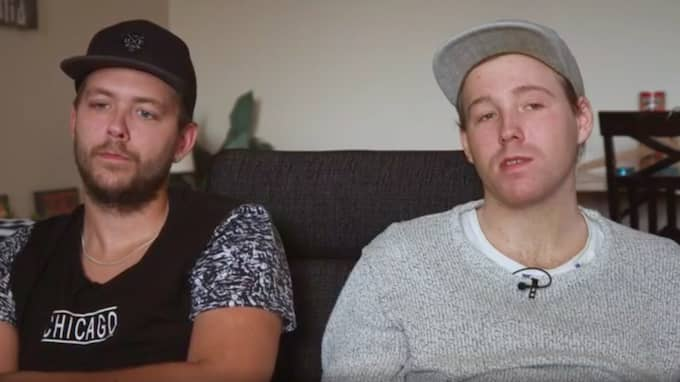 De mordutpekade bröderna Christian och Robin idag. Foto: SVT