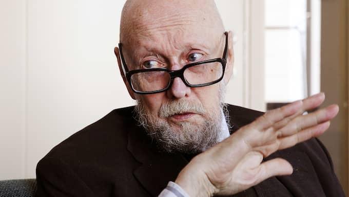 Akademiledamoten och författaren Torgny Lindgren blev 78 år gammal. Foto: CORNELIA NORDSTRÖM