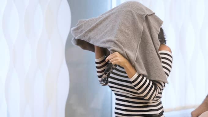 Arbogakvinnan erbjöd en man 5 000 kronor för att smuggla ut ett brev till hennes son. Foto: SVEN LINDWALL