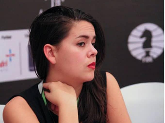 Svenska schackspelaren Angelina Fransson.