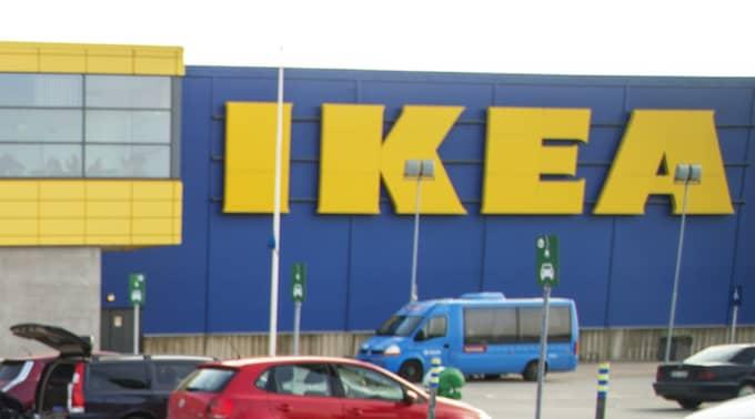 Händelsen inträffade på Ikea Bäckebol i Göteborg. Foto: Anders Ylander