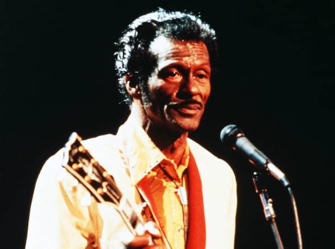Chuck Berry betraktas av många som rockens urfader. Foto: Universal/Rex/Shutterstock / UNIVERSAL/REX/SHUTTERSTOCK REX FEATURES