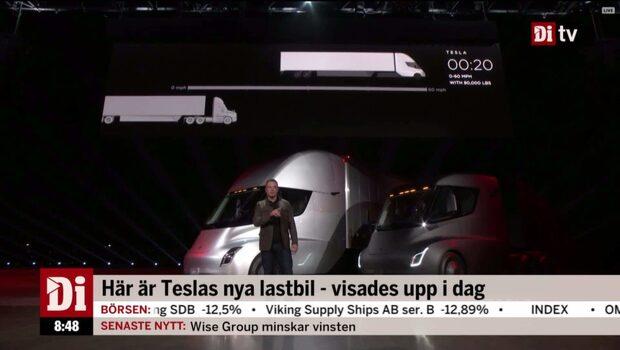 Teslas nya lastbil: Så hotas Volvo