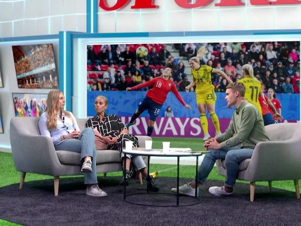 VM-studion sammanfattar Sveriges match mot Chile