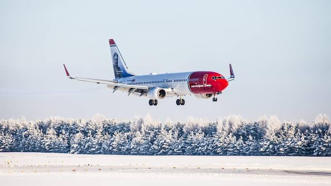 Norwegian fortsätter att tappa när det kommer till intäkter per passagerare. Foto: NORWEGIAN